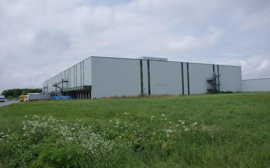 Marquardt Umbau einer Logistikhalle – Architektur