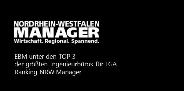 EBM Top 3 Ingenieurbüros für TGA