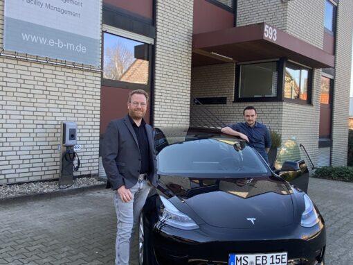 Der erste vollelektrische Firmenwagen